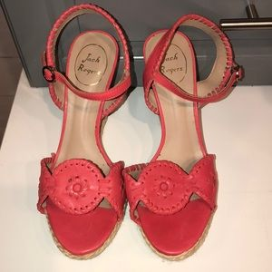 Jack Rogers Clare Wedge size 8